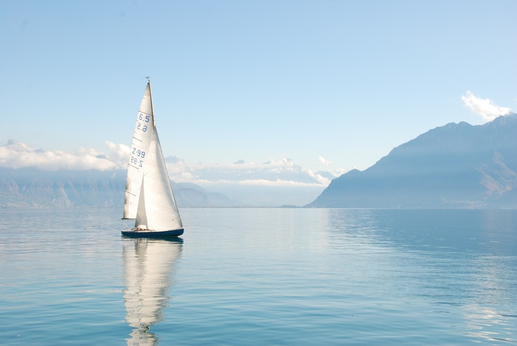 Båt på sjön